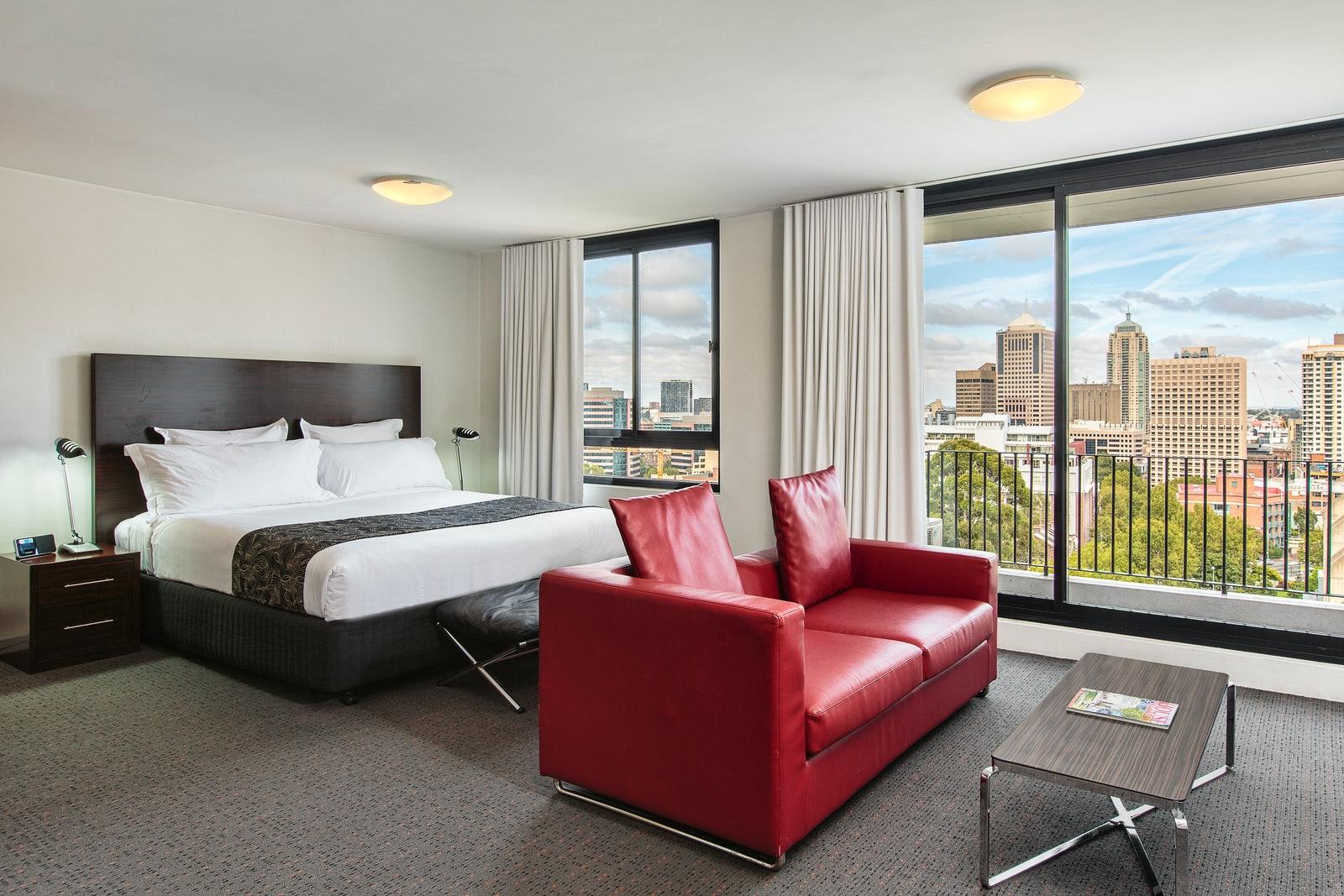 A picture of Cambridge Hotel modern hotel rooms in Surry Hills