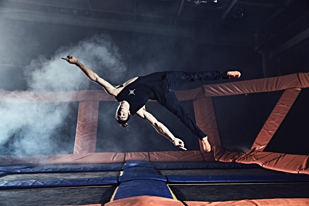 A picture of a trampoline park located near Riley Street in Surry Hills