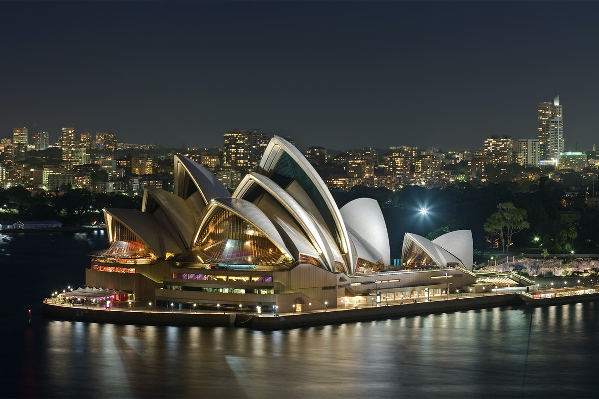 A picture of the Sydney Opera House a short walk from Surry Hills
