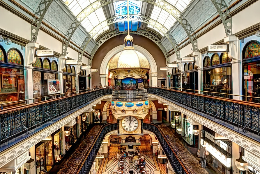 A picture of the Queen Victoria Building located near Surry Hills