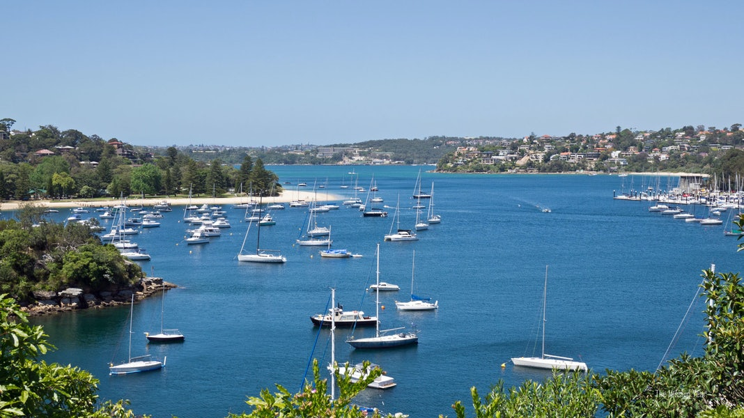 A picture of Sydney Harbour from a spectacular view located minutes from Surry Hills