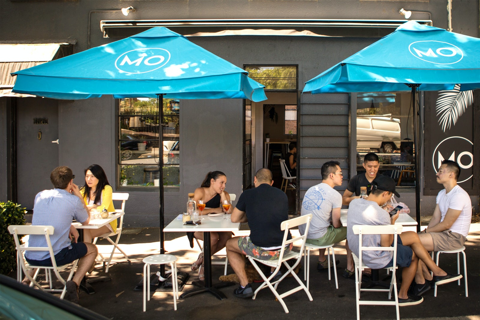 A picture of the Mo Cafe located near Surry Hills in Sydney