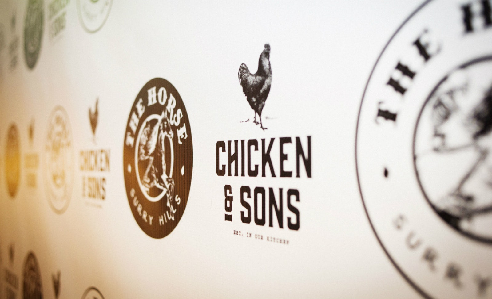 a picture of a Chicken and Sons burger joint in Surry Hills Sydney
