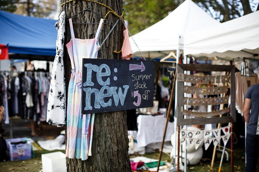 A picture of the Surry Hill markets near Riley Street in Sydney
