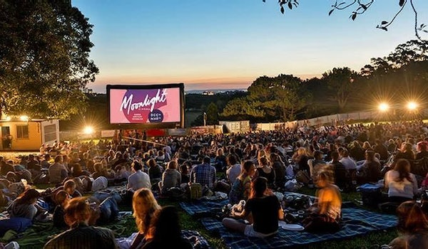 Cosy up at an outdoor cinema