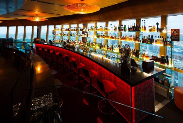 Dine at the 360 Bar