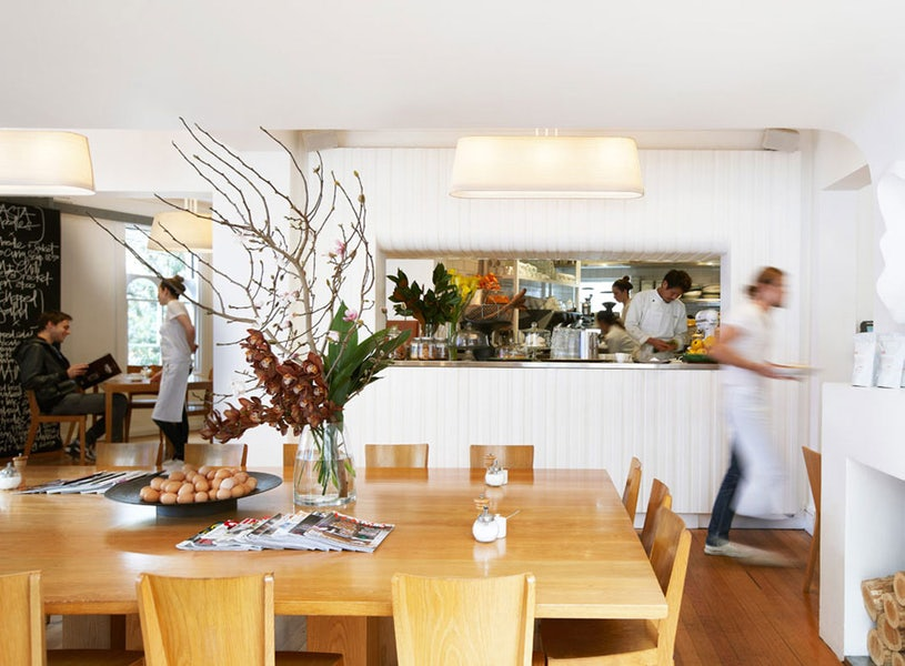 A picture of modern restaurant in Surry Hills near Cambridge Hotel