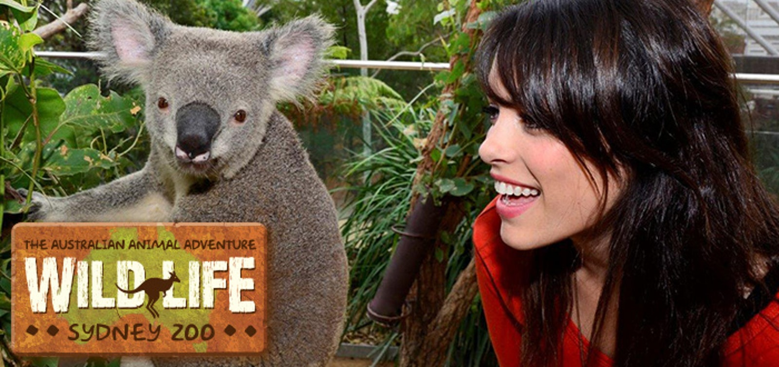 A promotional picture from the Sydney Zoo which is located near Surry Hills