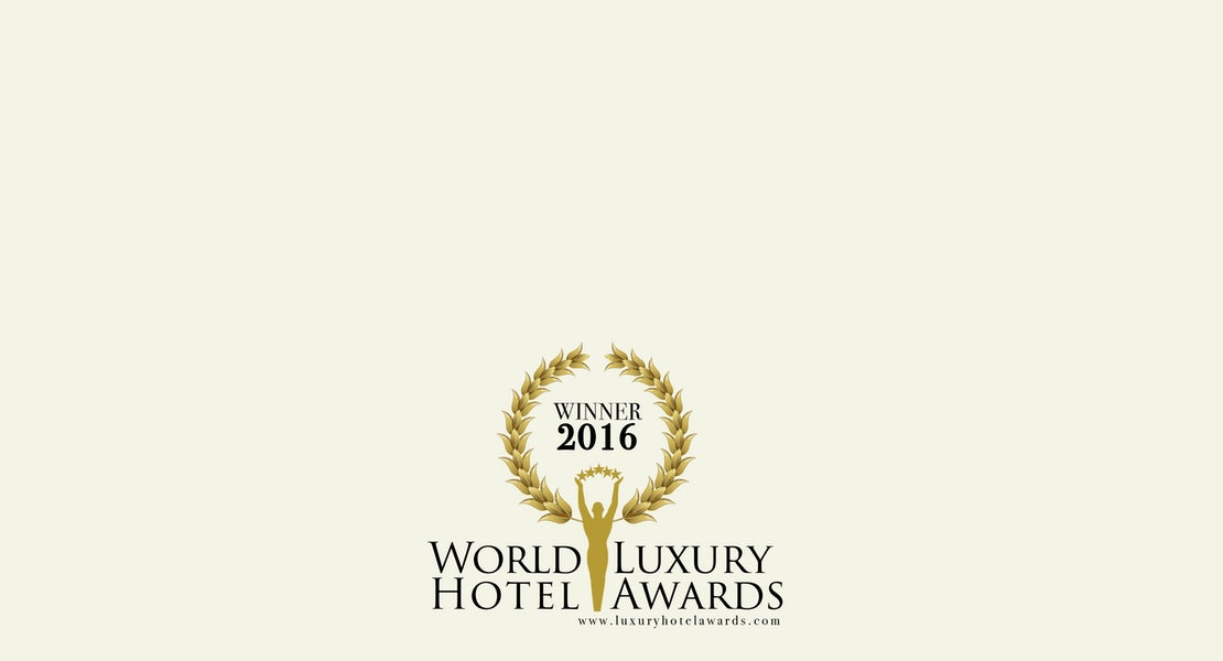 A picture of the World Luxury hotel awards for Adge Hotel in Surry Hills Sydney