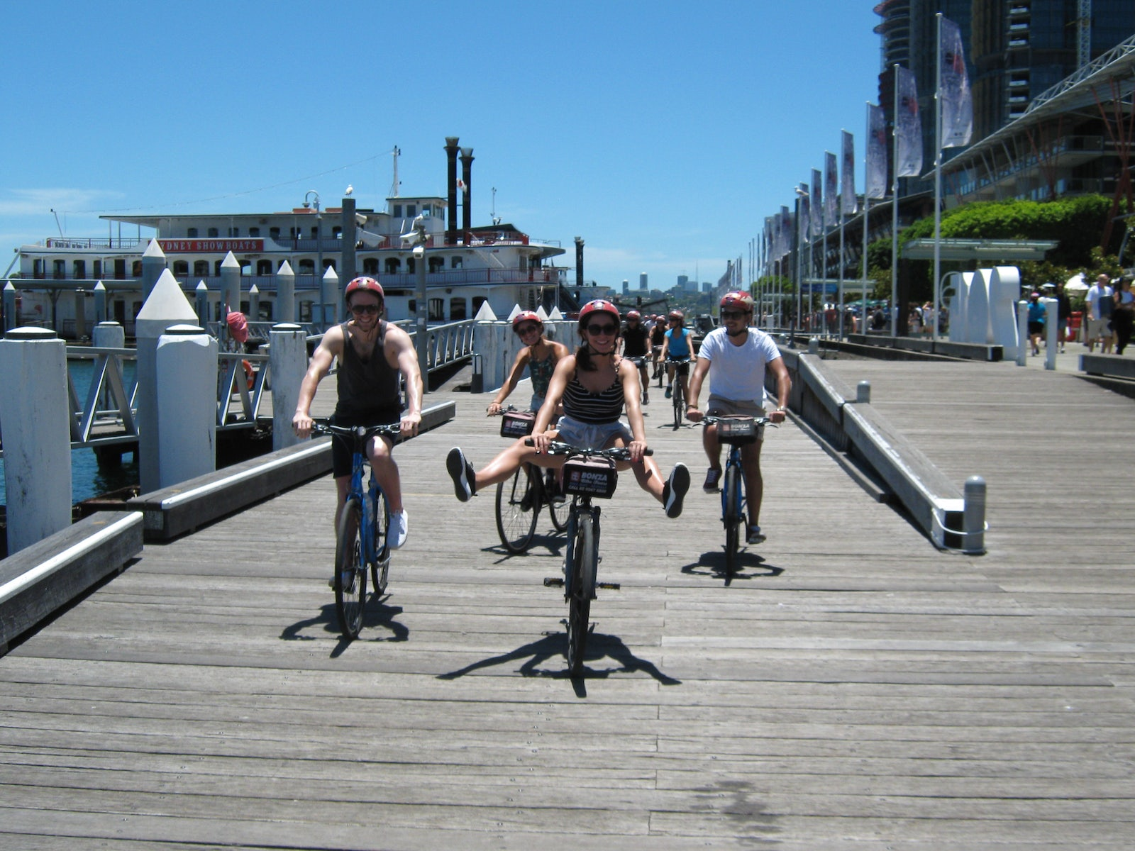 picture of A Bonza Bike Tour which looks at Sydney from a historical perspective