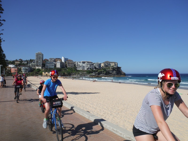 A picture of a bike tour in Sydney which starts near Adge and Cambridge Hotel in Surry Hills