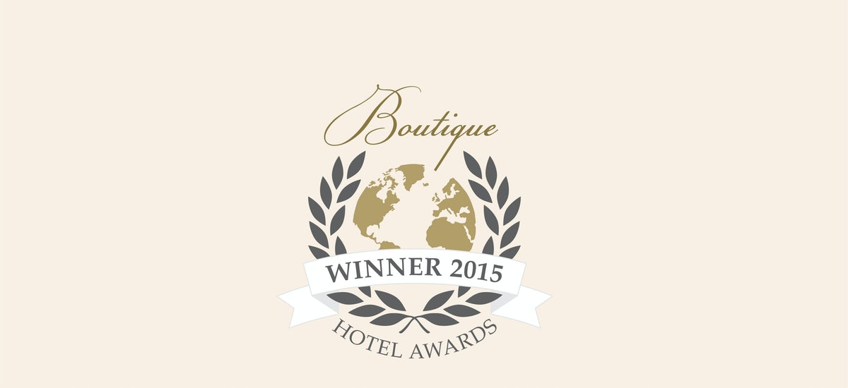 A picture of the Boutique Winner Award for Adge Hotel in Sydney