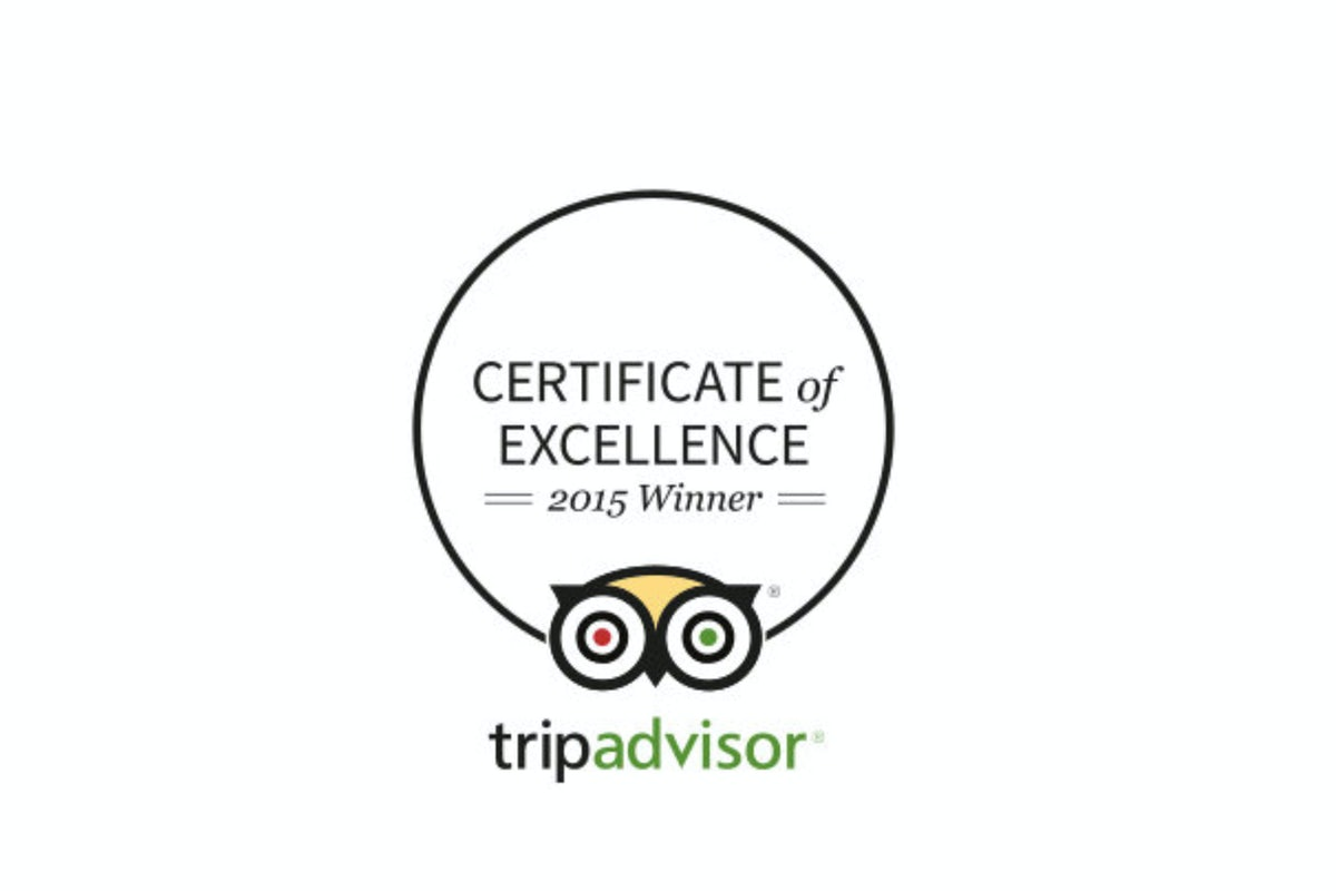 A picture of a trip advisor awarded to Adge Hotel in Surry Hills